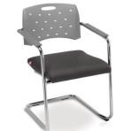 Ref. 35007 SE – Cadeira Aproximação Fixa com Assento Estofado.