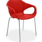 Ref. 33.006 P – Cadeira em polipropileno fixa 04 pés